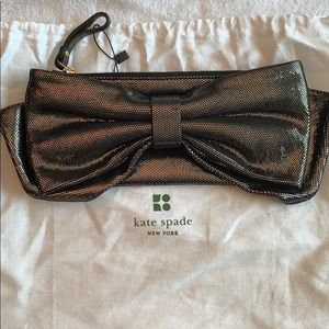 Kate Spade Rosalie Bow Clutch Wristlet Wallet Bag